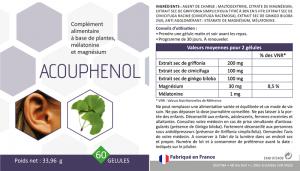 acouphenol composition