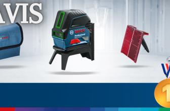 Decription du Niveau laser Bosch pro Vert :